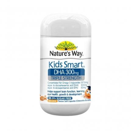 1 lo keo mem Nature's Way Kids Smart DHA 300mg Triple Strength